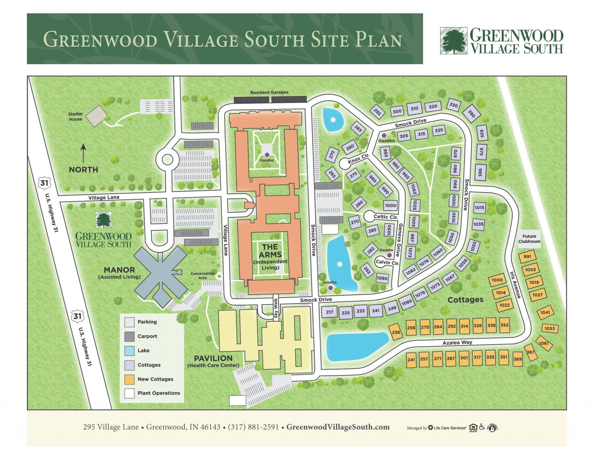 Greenwood Village South Site Plan